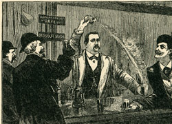 jerry thomas blue blazer