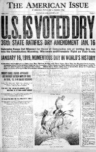 proibizionismo 1919